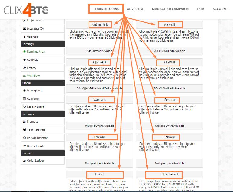 Clix4btc.com - букс по заработку криптовалюты 17955666