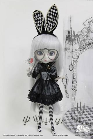 Pullip Monochrome Alice Limited Edition  19713972_m