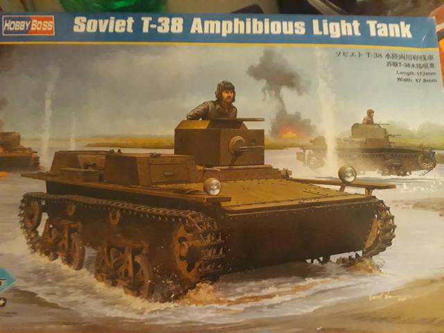 Плавающий танк Т-38 ГОТОВО 20531262_m