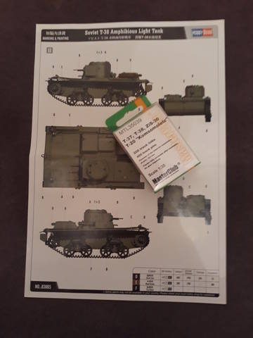 Плавающий танк Т-38 ГОТОВО 20531268_m