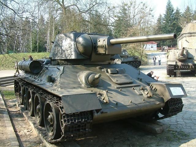 Т-34/76 образца 1943 года. 20622385_m