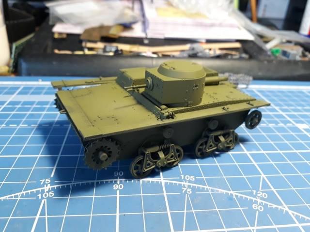 Плавающий танк Т-38 ГОТОВО - Страница 4 21278036_m