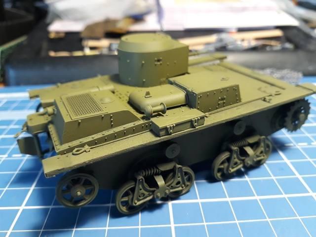 Плавающий танк Т-38 ГОТОВО - Страница 4 21278038_m