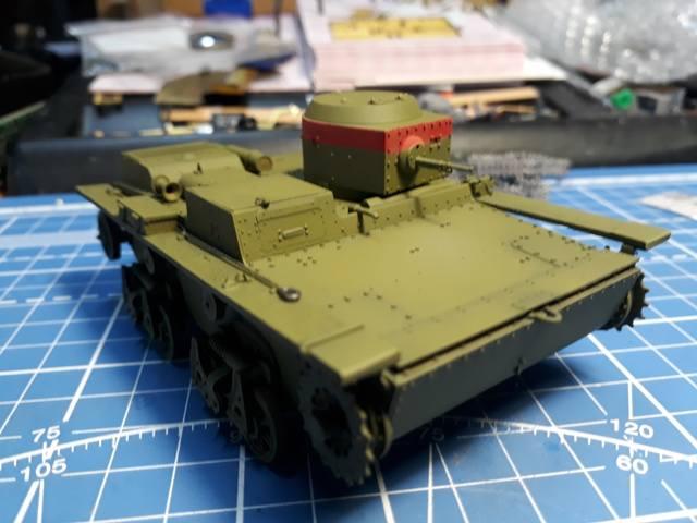 Плавающий танк Т-38 ГОТОВО - Страница 4 21283405_m