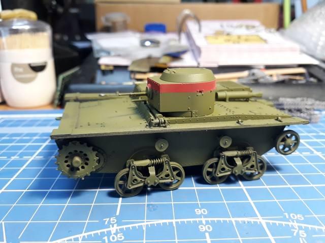 Плавающий танк Т-38 ГОТОВО - Страница 4 21283404_m