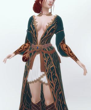 Старинные наряды, костюмы - Страница 4 21465061