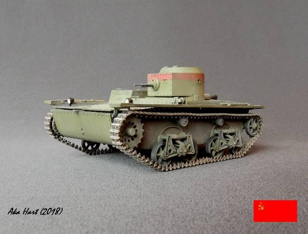 Плавающий танк Т-38 ГОТОВО - Страница 5 21583077_m