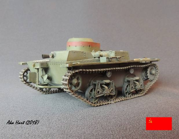 Плавающий танк Т-38 ГОТОВО - Страница 5 21583083_m