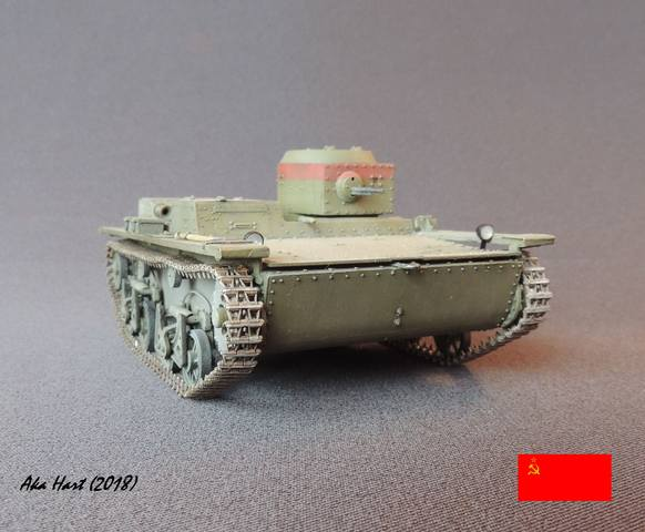 Плавающий танк Т-38 ГОТОВО - Страница 5 21583087_m