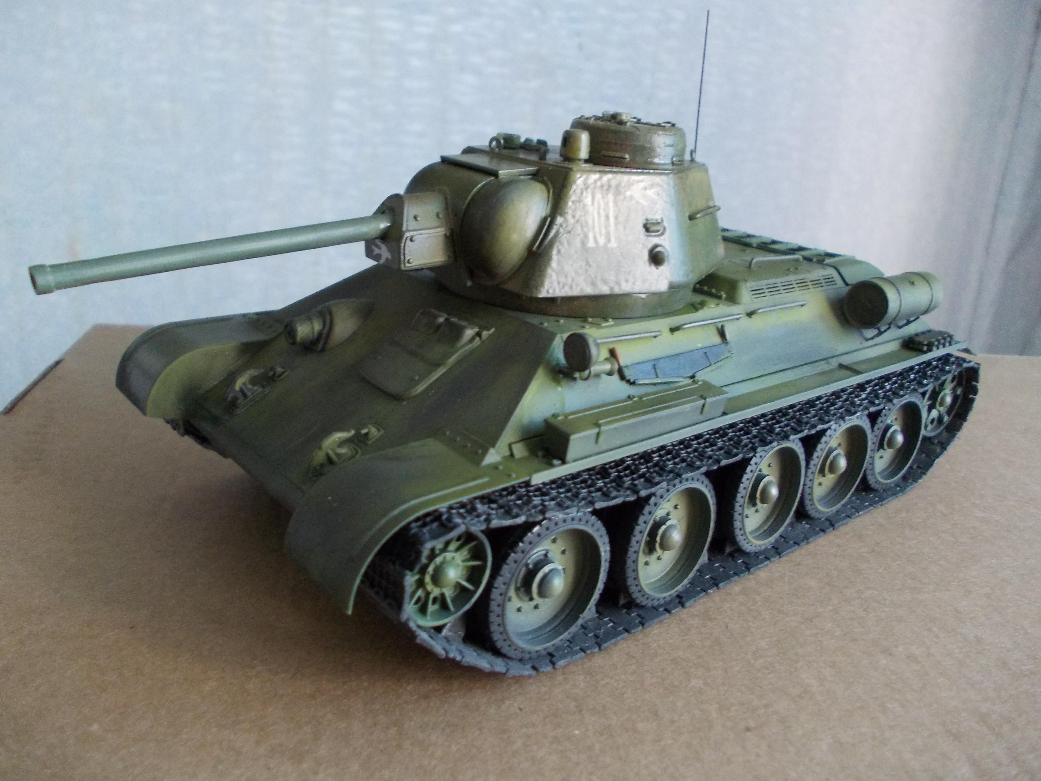 ОТ-34/76 1/35 из модели фирмы ICM 30375504