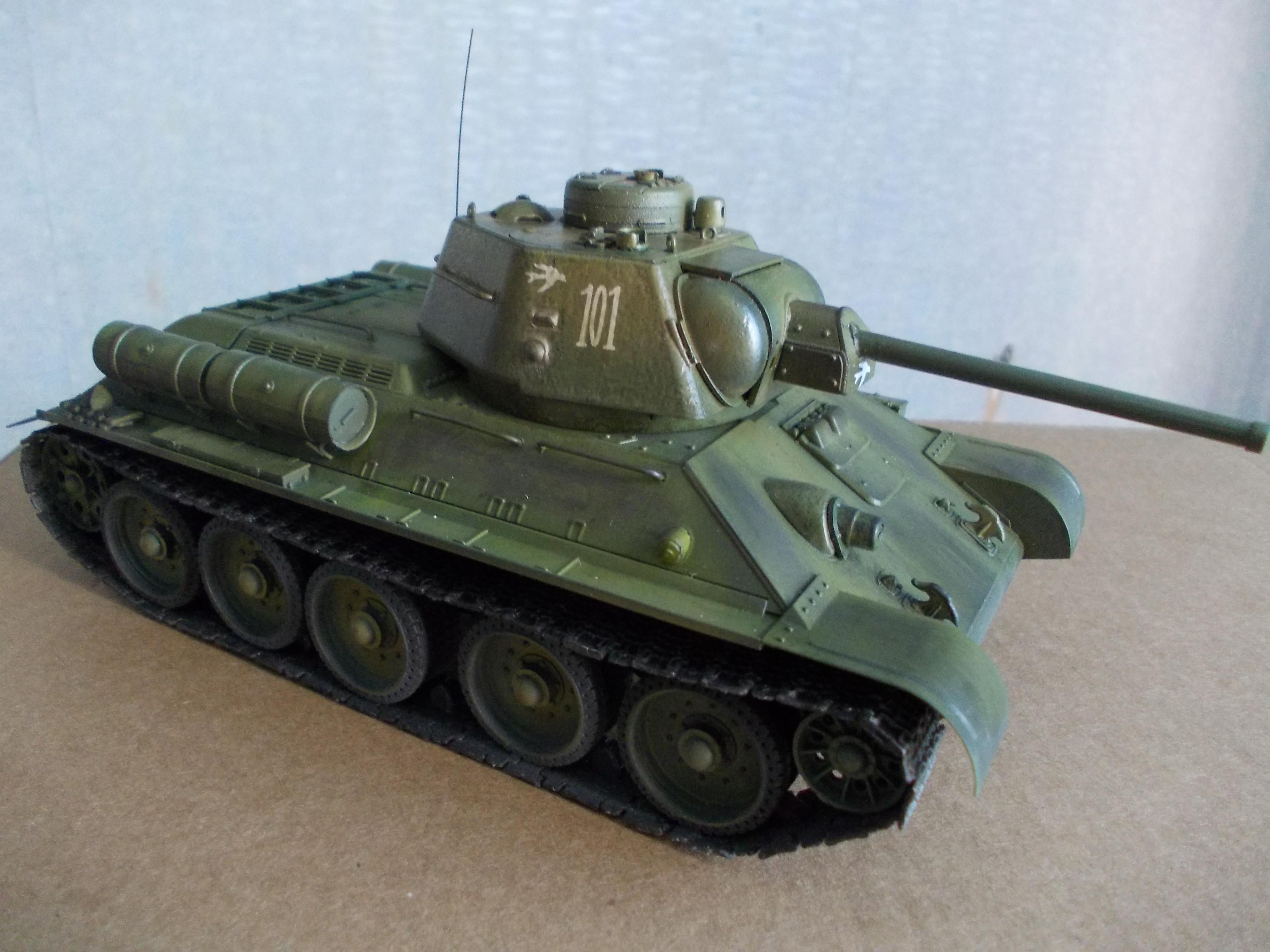 ОТ-34/76 1/35 из модели фирмы ICM 30375544