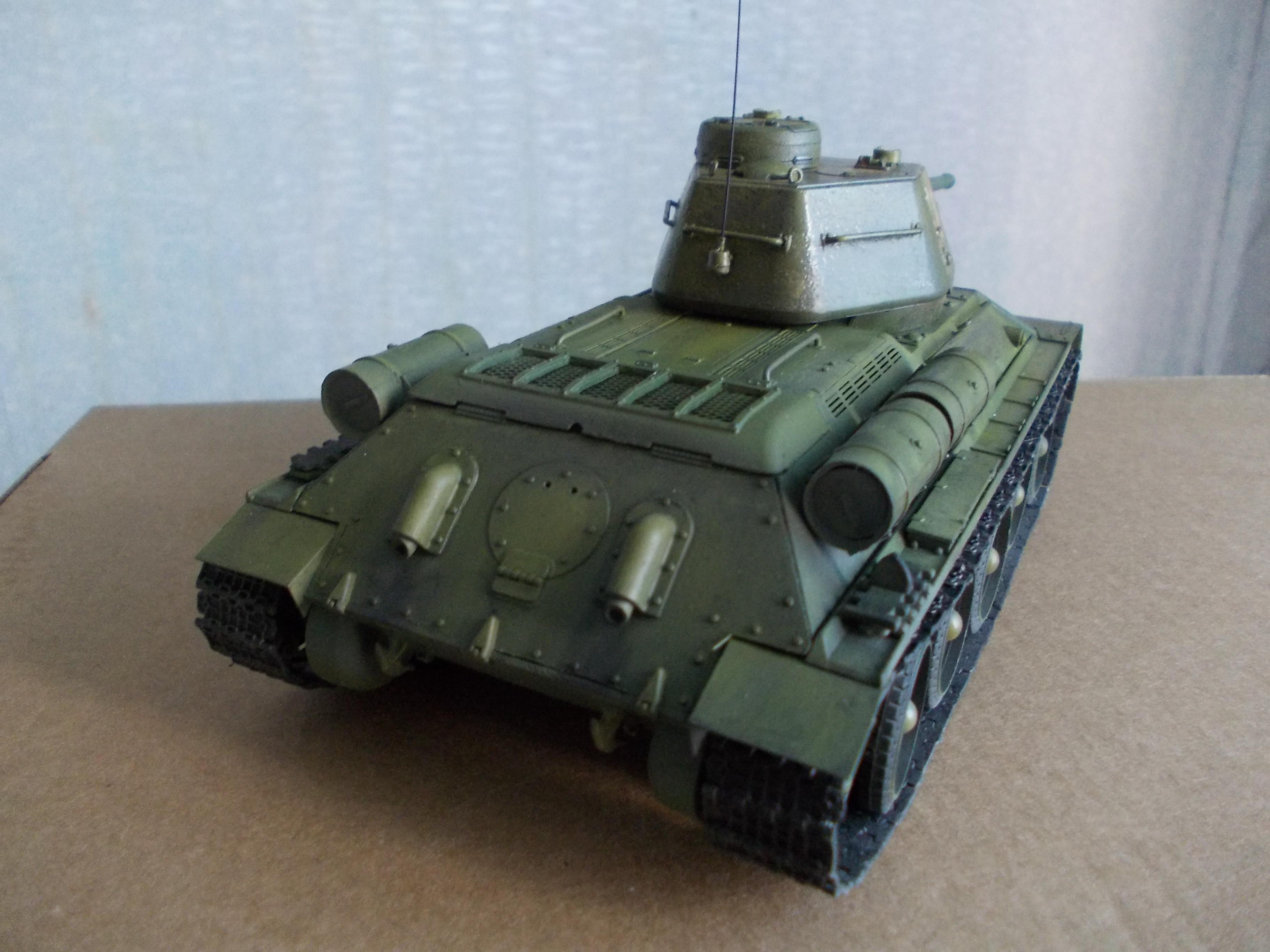 ОТ-34/76 1/35 из модели фирмы ICM 30375560