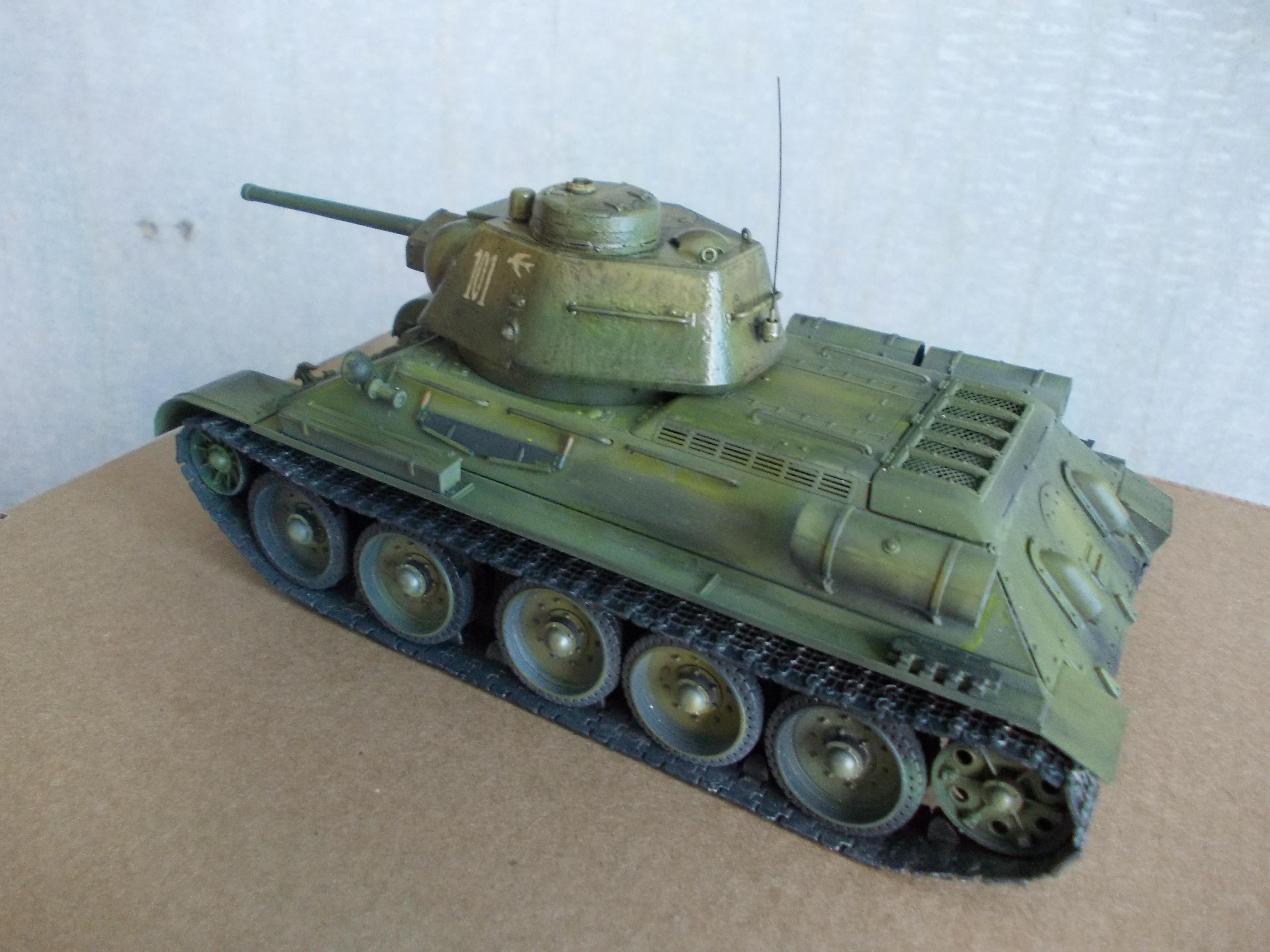 ОТ-34/76 1/35 из модели фирмы ICM 30375573