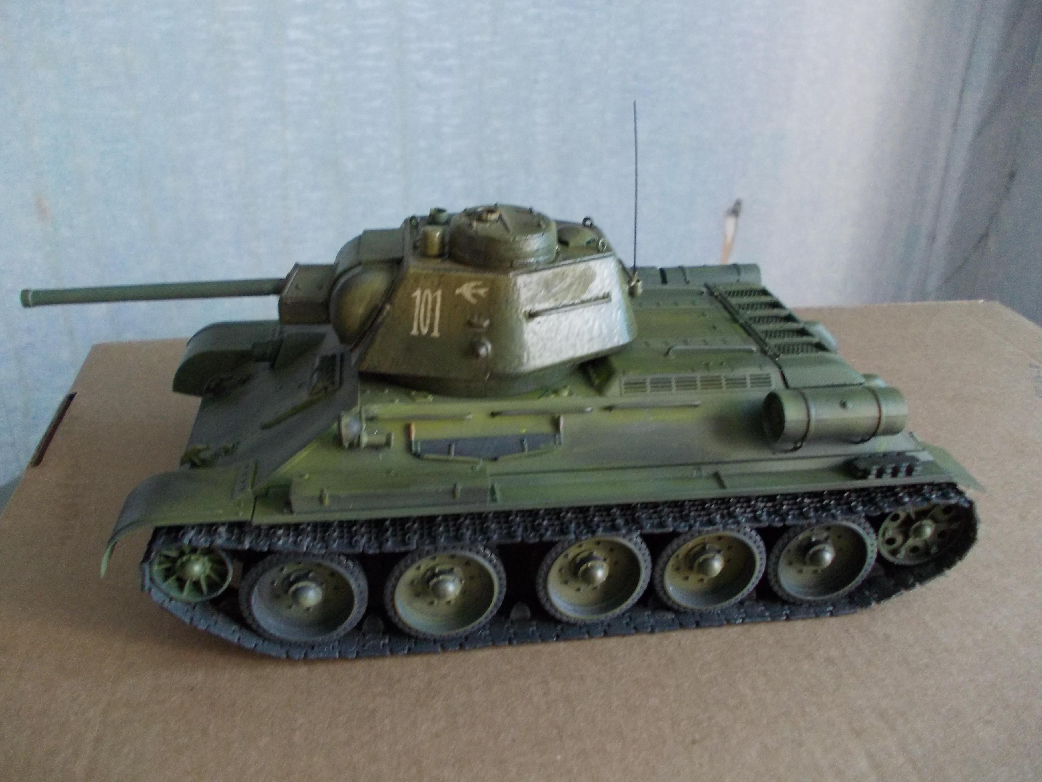 ОТ-34/76 1/35 из модели фирмы ICM 30375583