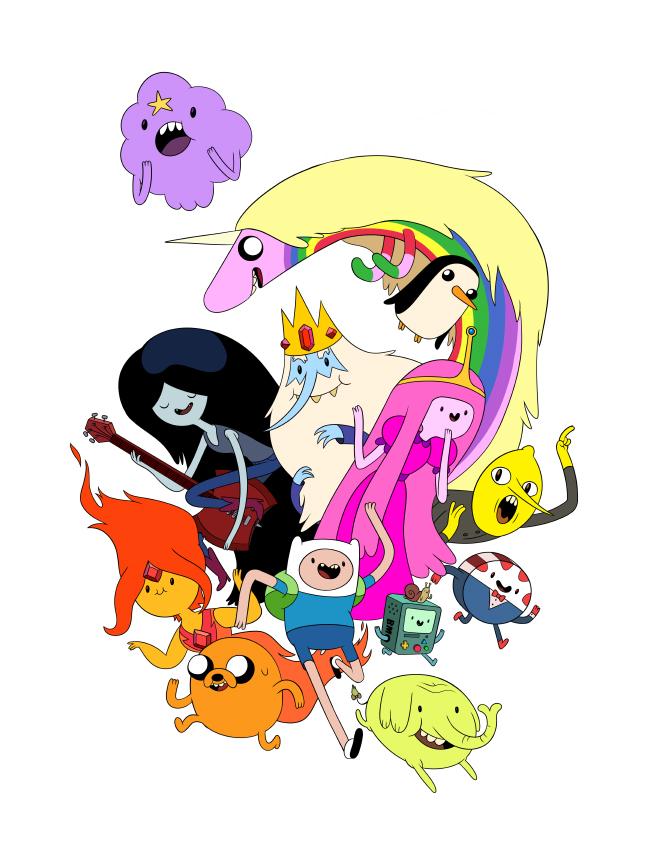 Adventure Time Adventure_time_by_lanbridge-d4zc6op
