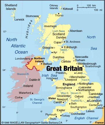 Države planete zemlje England
