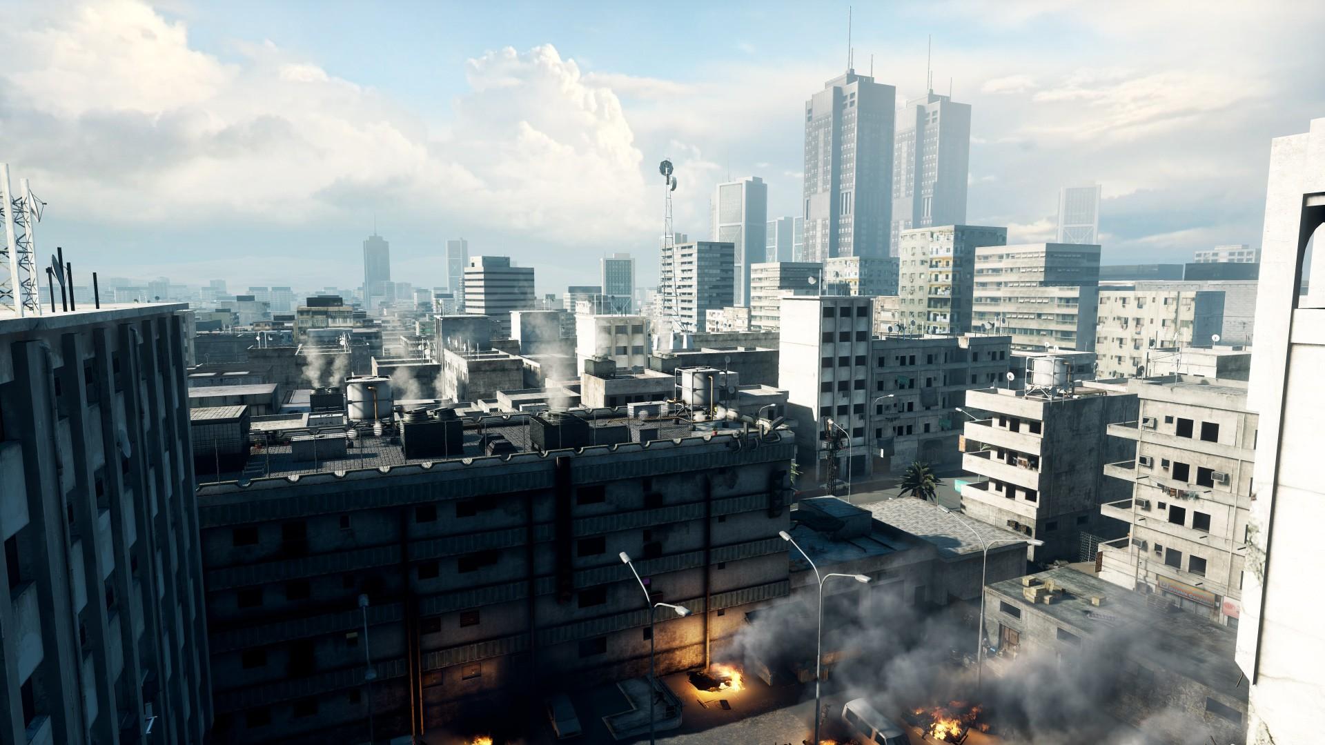Vendo Chave Battlefield 3 Limited Edition BF3_Iraq_city