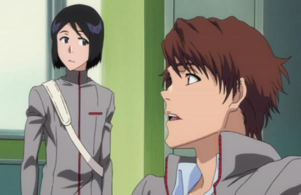 [Shounen Manga] - Bleach Keigo_and_Mizuiro_wait