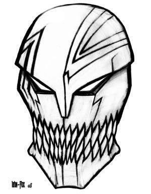 Azure Osiris Midoriko_Hollow_Mask