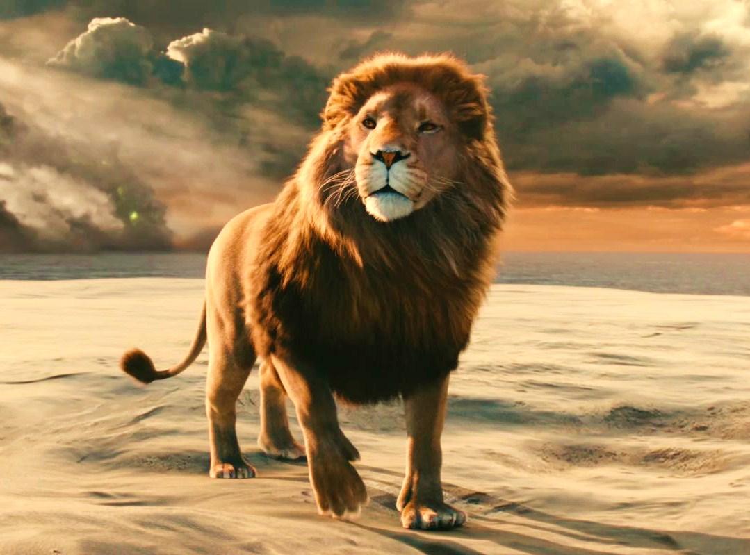 Description des Lieux et monstres présents Aslan-lion-3-Chronicles-of-Narnia-Voyage-of-the-Dawn-Treader-wallpaper