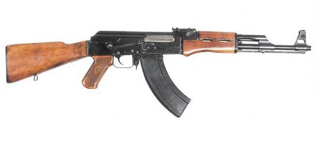 guerra - Curiosidades de la guerra fría: la URSS AK-47_en_la_vida_real