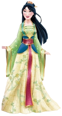 Un nouveau look pour les Princesses Disney - Page 2 Mulannew