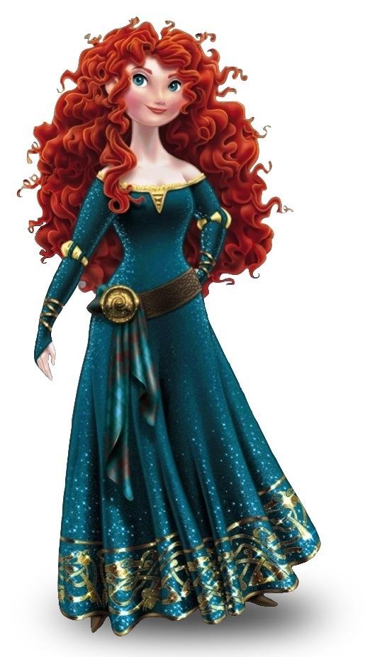 Un nouveau look pour les Princesses Disney - Page 3 Meridapose2