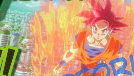Dragon Ball Z: Battle of Gods- Ultimo trailer en version subtitulada + Duracion oficial de la pelicula + Nuevas Imagenes SSGGokuAboveCity%28BoG%29