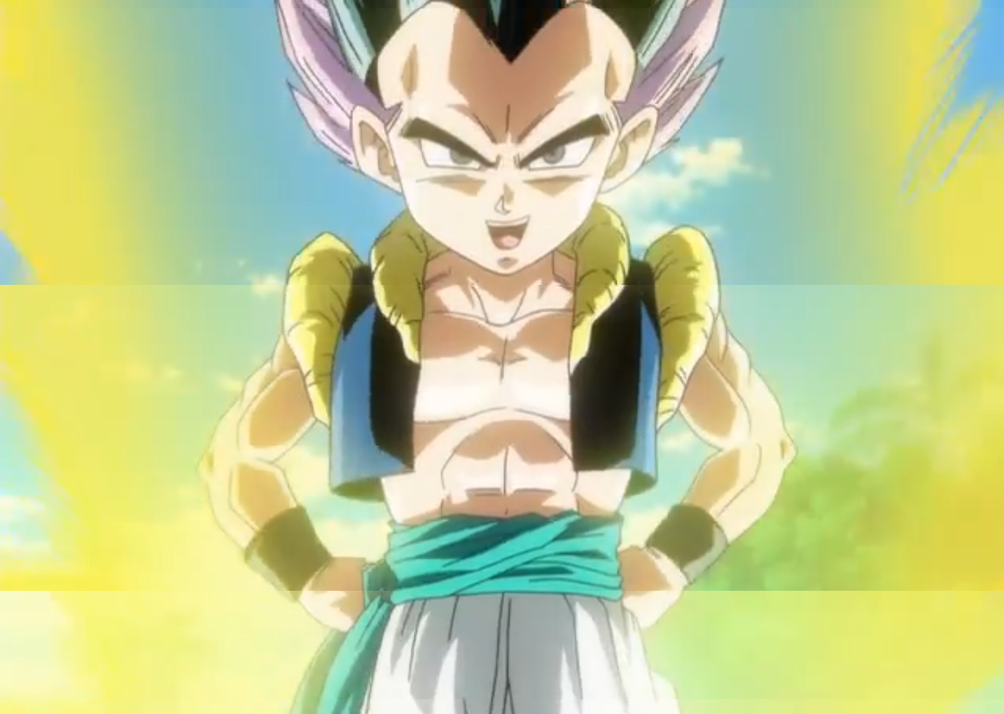Sinopsis oficial de Dragon Ball Z: Battle of Gods Gotenks%28BoG%29