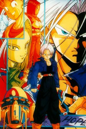 TV Specials de Dragon Ball Trunks_Special_Japanse_Cover