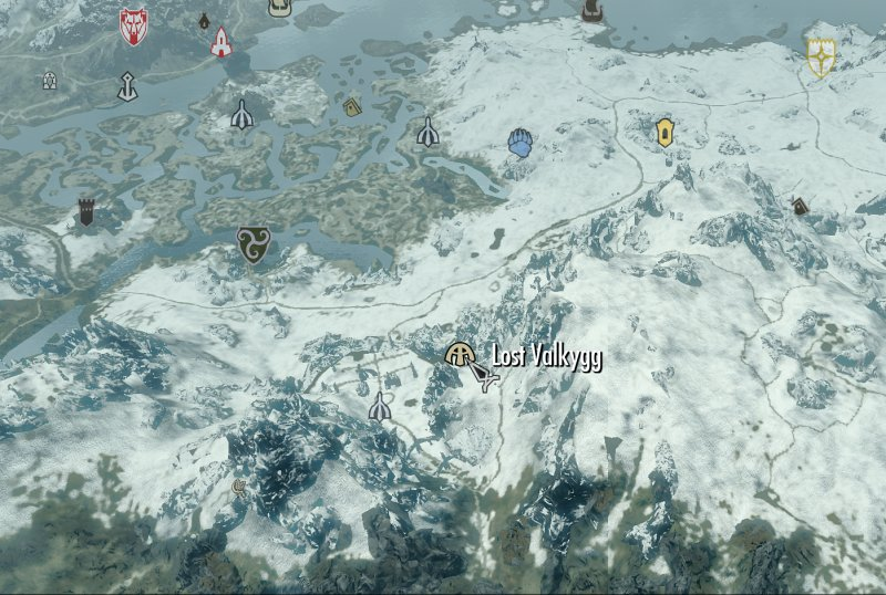 The Elder Scrolls V: Skyrim - Page 40 Lost_Valkrygg_Map