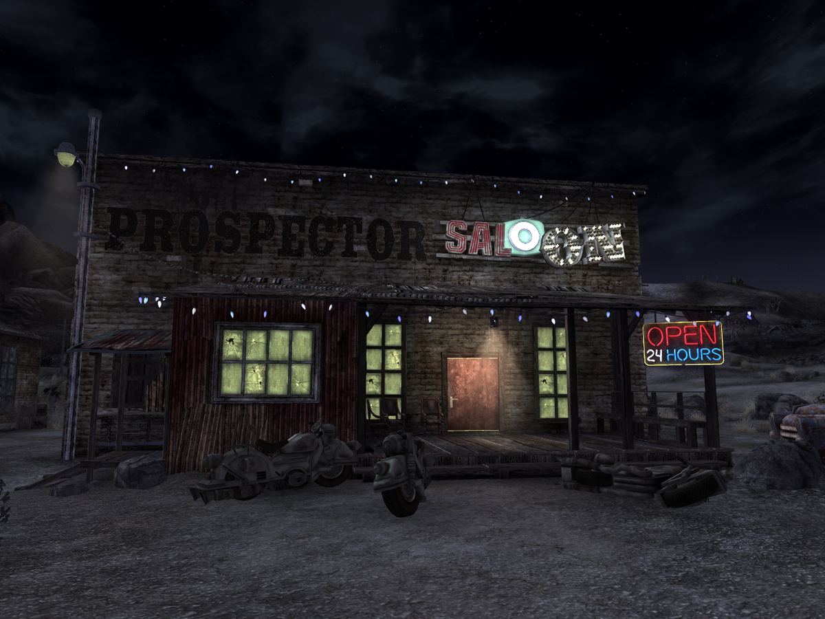MP's WIPs Prospector_Saloon_at_night