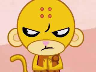 Happy Tree  Friends Buddhist_Monkey