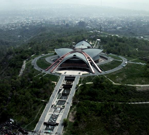 JESC '11: Jerevan - Armenia - 13 participantes An_aerial_view