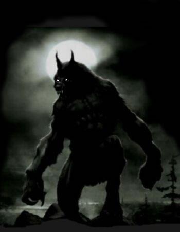 Pedido de logo Hombre-lobo
