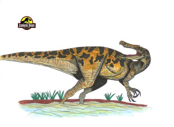 Baryonyx (Para Jurassic Park) Jurassic_Park_Baryonyx_by_hellraptor