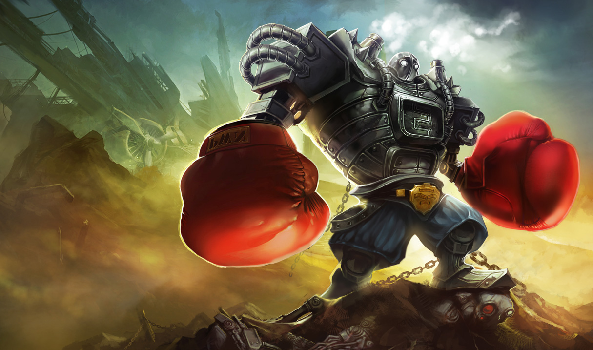 P.O League Of Legends Champs And Skins Blitzcrank_BoomBoomSkin_Ch