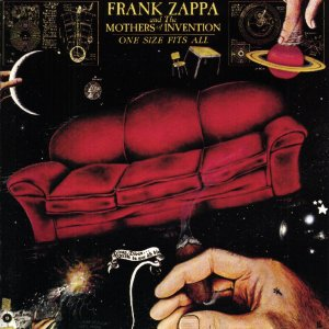 A rodar XII                         - Página 4 Frank_Zappa_-_One_Size_Fits_All