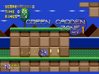 Sonic 1: Painto Edition 2 [3.0 release] GGZ1