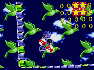 Sonic 1: Painto Edition 2 [3.0 release] Specialstage2