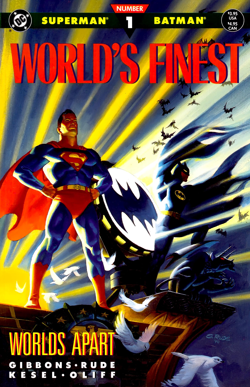 Batman vs. Superman (Man of Steel 2) World%27s_Finest_Vol_2_1