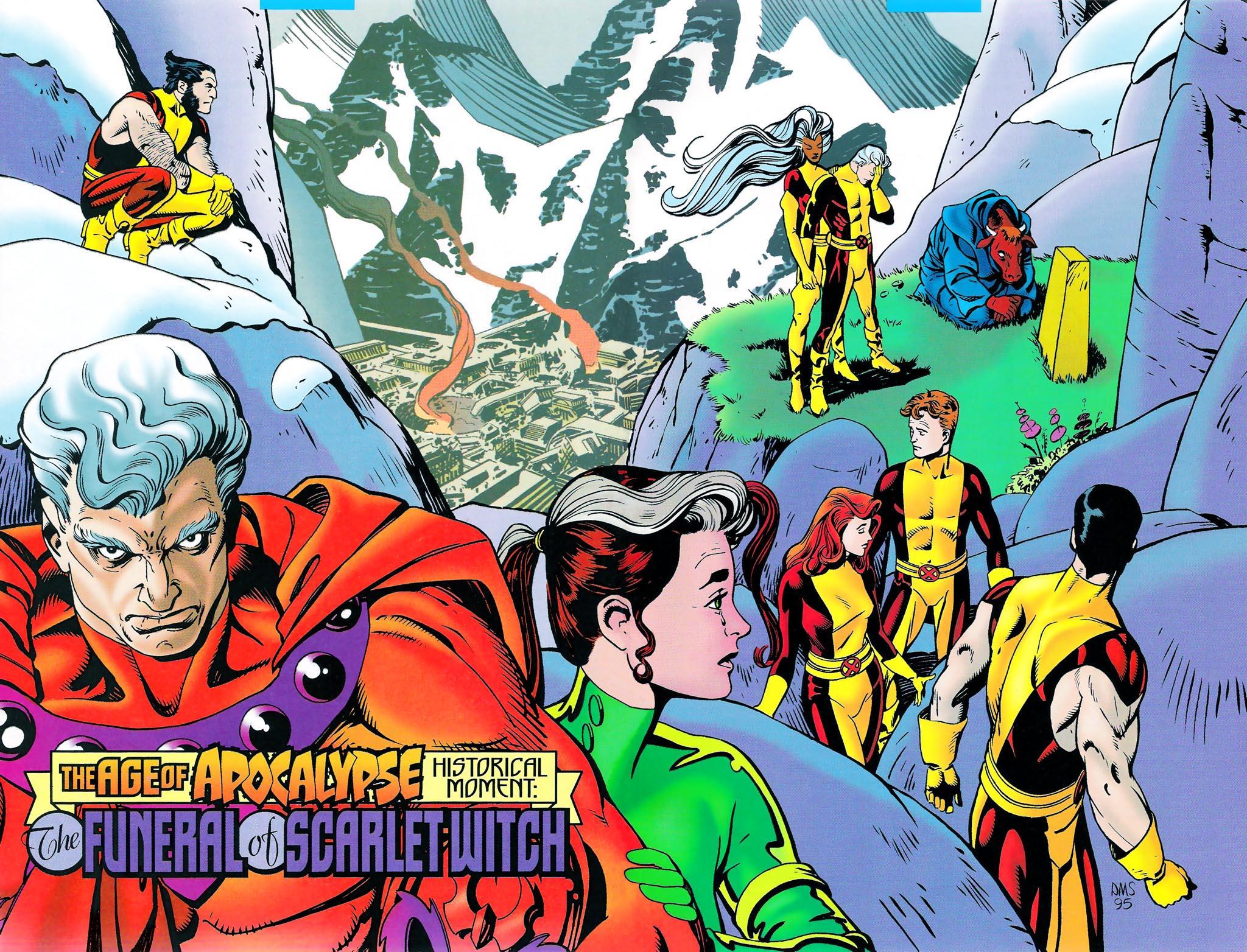 A Jövendő Múlt Napjai X-Men_Chronicles_Vol_1_2_Pinup_4