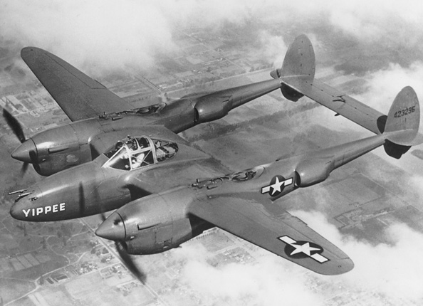 July Bombing...a Red, White and Blue Extravaganza! - Page 2 Lockheed_P-38_Lightning_USAF