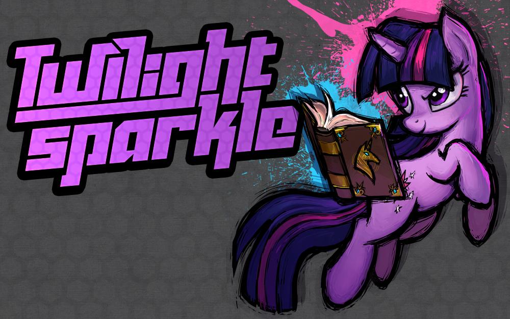 MLP Fighting is Magic: Un nouveau FanGame développé par Mane6 FANMADE_Twilight_Sparkle_character_art_new_Fighting_is_Magic