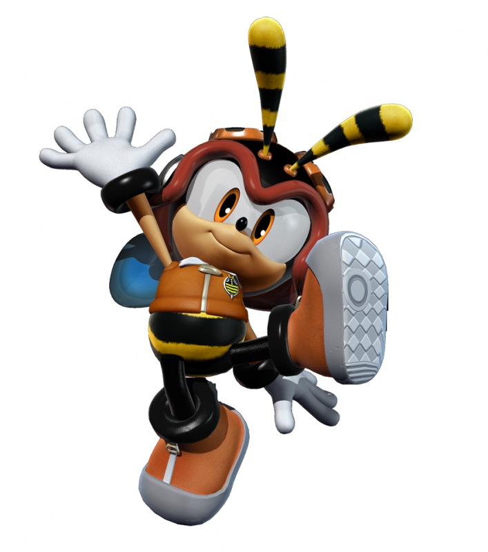 Top 5 Favorite Video Game Characters Charmy_Bee_Shadow