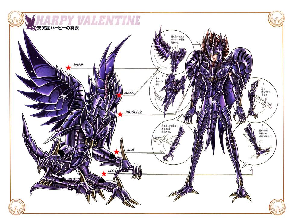 [Comentários] Valentine de Harpia. Esquema_valentine