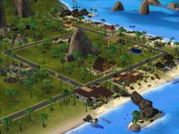 Los sims 2:Bon Voyage Barrios:Isla Twiikii, Tres lagos, Villa Takemizu Isla_Twikkii