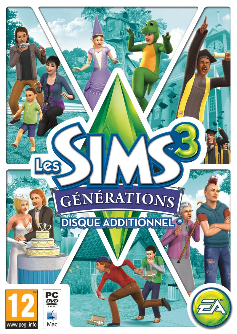 Les Sims™ 3 : Générations - Page 5 Jaquette_Les_Sims_3_G%C3%A9n%C3%A9rations
