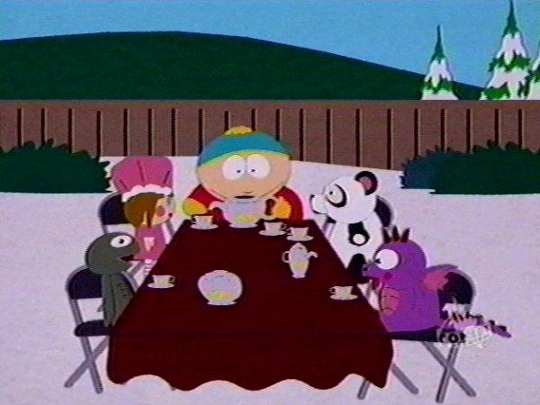 Star Academy?? Insomma quella boiata  [perché l'admin non sopporta Facchinetti]  su Rai Due  - Pagina 2 Cartman%27s_tea_party