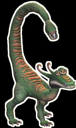 Criatura con esqueleto de Willowsaurio Willosaur_2